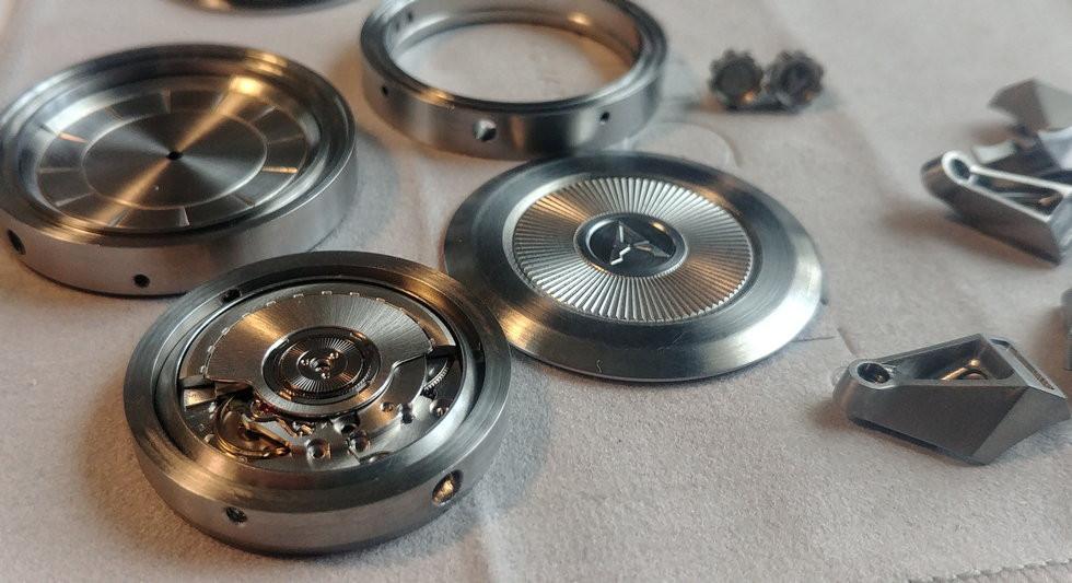 Parts of Fractalis prototype.