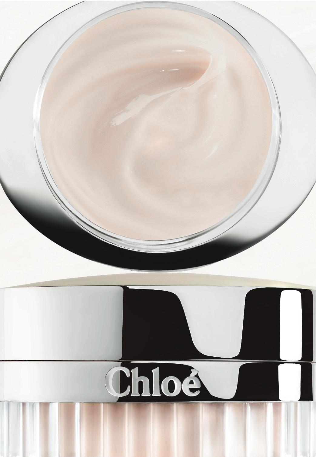 Chloé visuel crème Asie, Omedia.