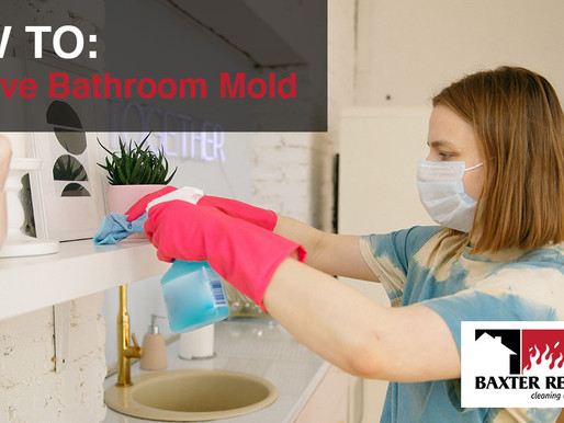 How to Remove Bathroom Mold