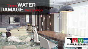 The Importance of Timely Water Damage Restoration