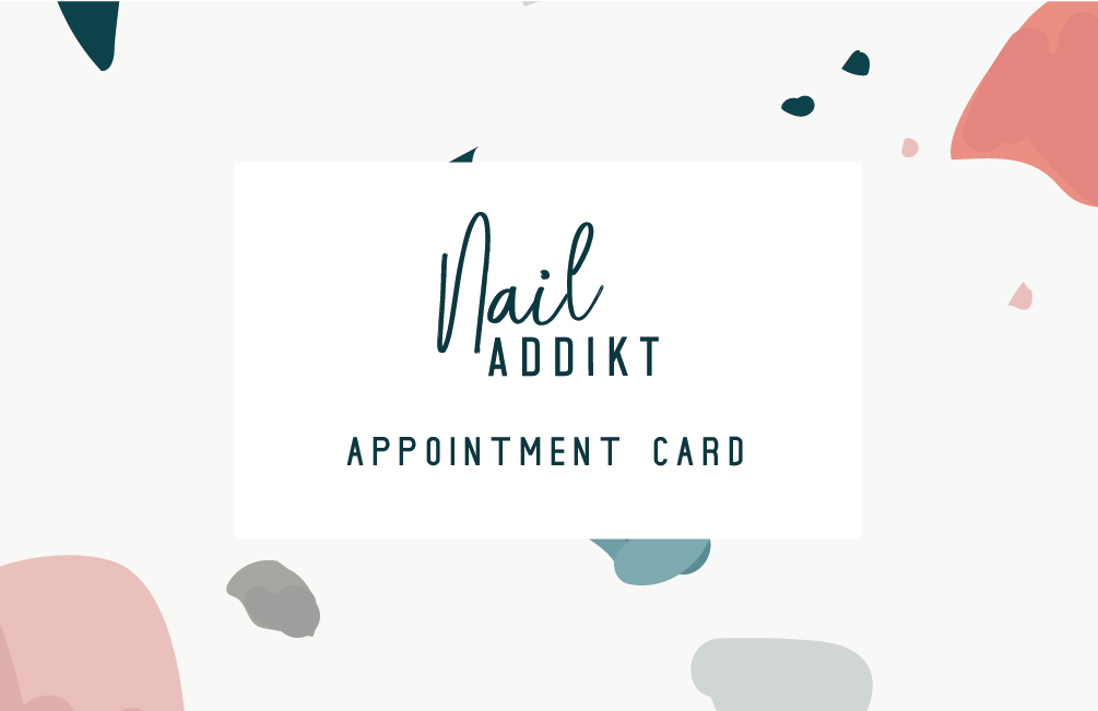 Appointment card front (gift)