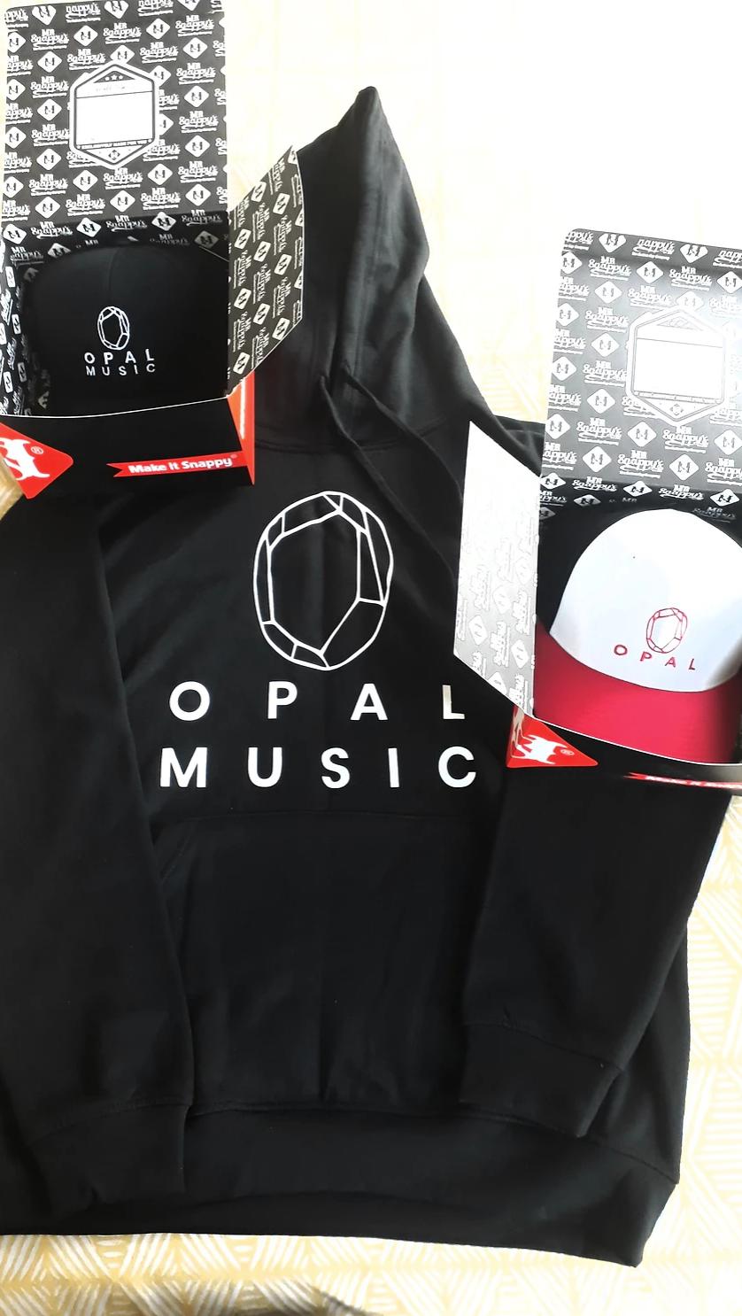 Opal Logo on Merchandise