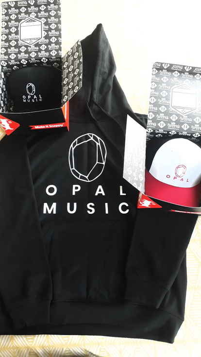 Opal Logo on Merchandise
