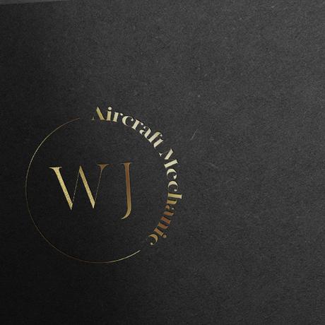 Cirlcle Alternative Logo Gold Foil