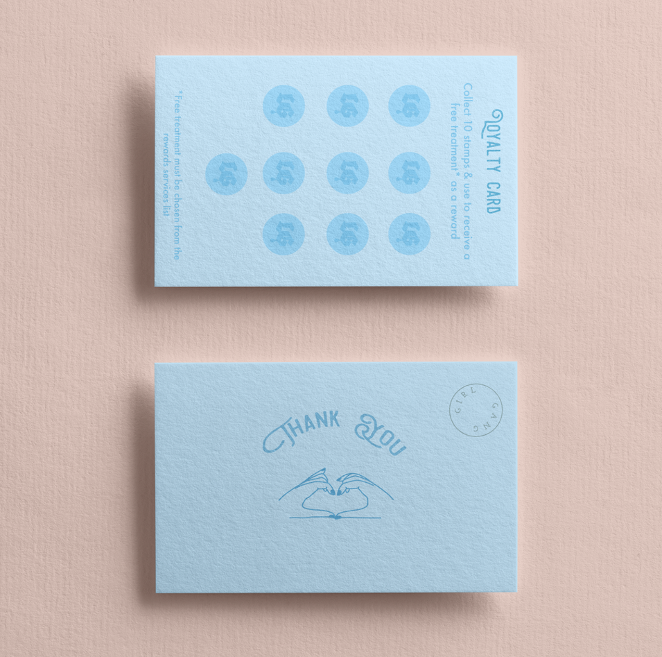 A second example of a Loyalty Card Design