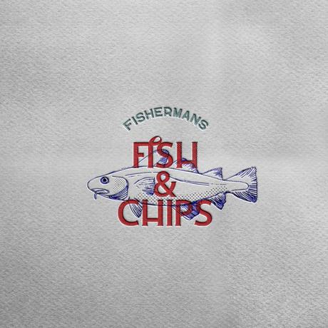 Fish and chip shop logo