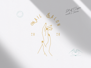Nail Salon Branding Package