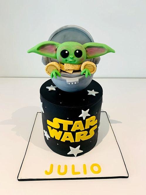 Pastel Baby Yoda