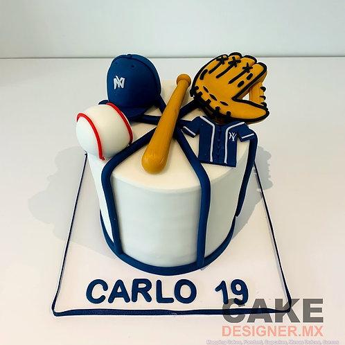 Pastel Baseball