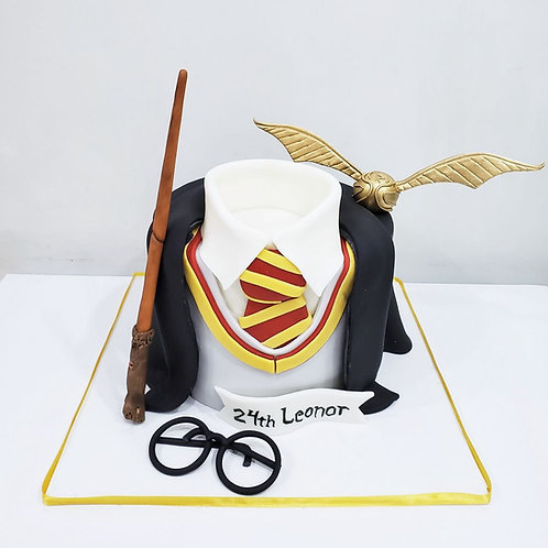 Pastel de Fondant Harry Potter Corbata
