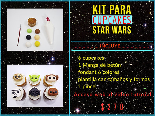 Kit de Cupcakes Star Wars