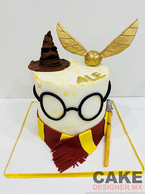 Pastel de Fondant Harry Potter