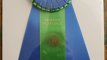 Lihi and Royal - Award of Merit the the Royal Canine show
