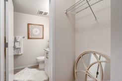 Master Closet & Bathroom