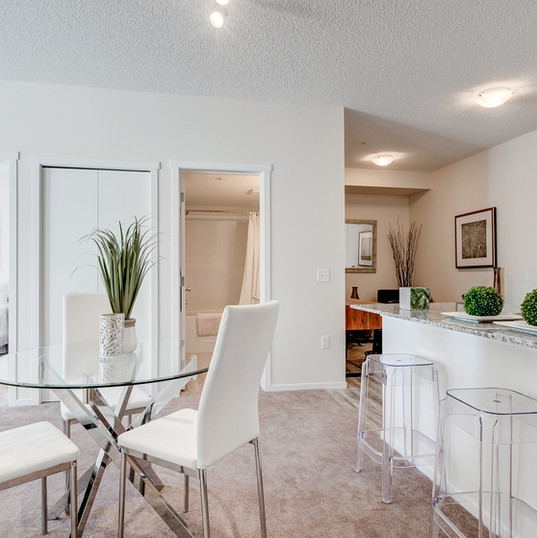 Modern, Open Concept Living Space