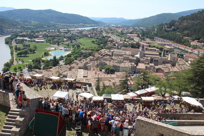 Passage du Fort de Sisteron (Jour 7)