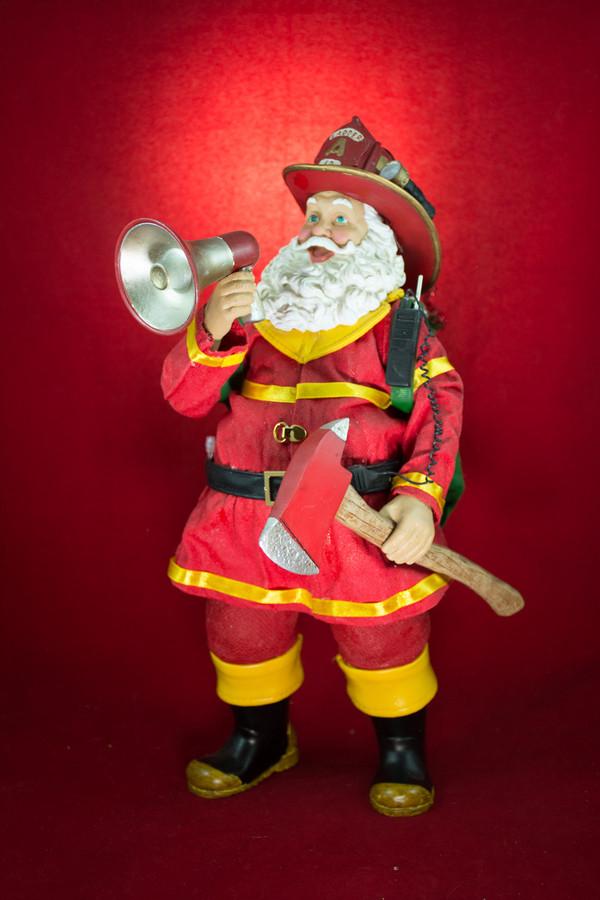 Alvinah rencontre le Père Noël à Châteauponsac!! (87)