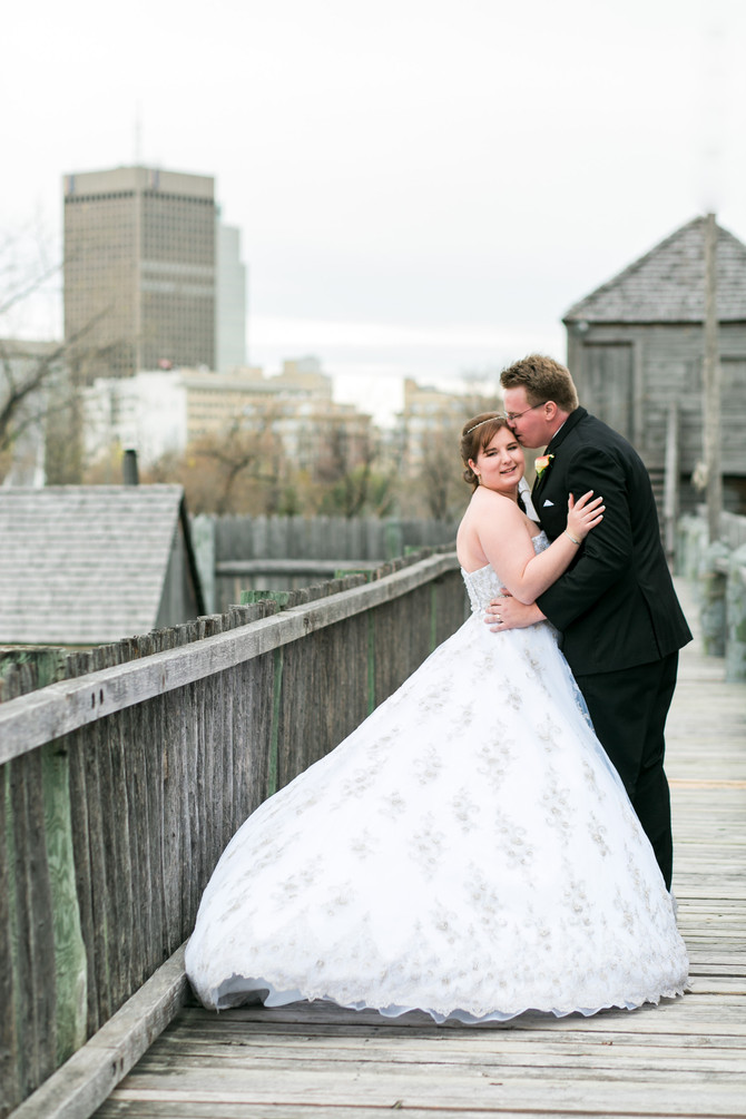 Fort Gibraltar [Wedding] Kailey + Jeff