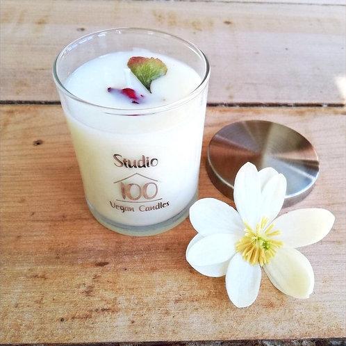Tropical Mango + Vanilla candle