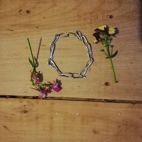 Raindrop link bracelet