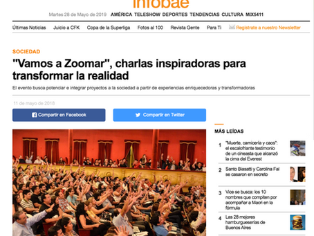 """""""Vamos a Zoomar"""", charlas inspiradoras para transformar la realidad"""