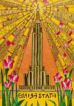 Gold Empire (140 cm x 100cm)