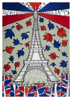 Eiffel (50 cm x 70cm)