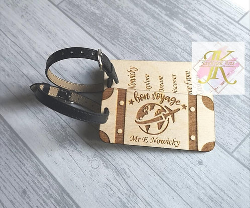 Suitcase Luggage tags