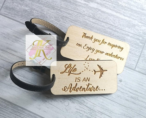 Life is an Adventure luggagetags