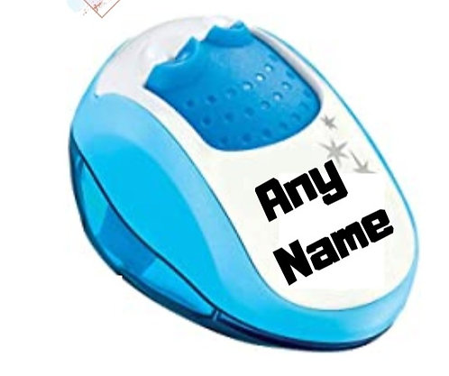 Personalised 2 hole sharpener