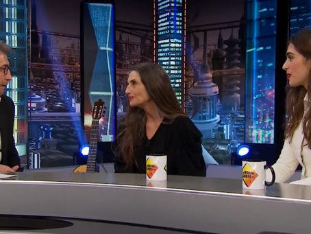 Ángela y Olivia Molina presentan 'La Valla' en 'El Hormiguero'