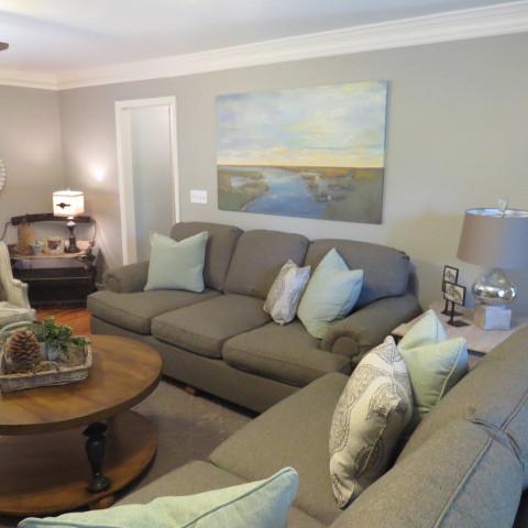 Living Room Renovation - After