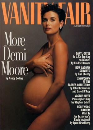 Demi Moore Pregnancy Cover