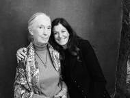 Jane Sarkin With Jane Goodall