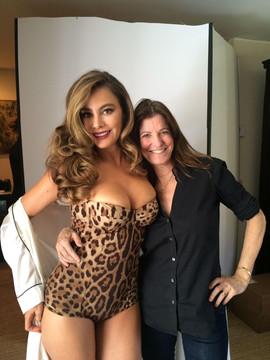 Jane Sarkin With Sophia Vergara