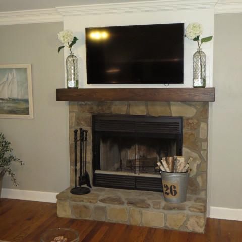 Fireplace Renovation - After