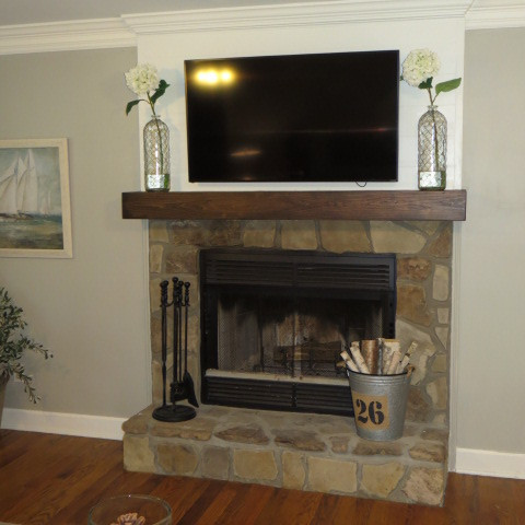 Fireplace Renovation - After
