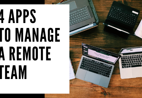 4 Apps to Manage a Remote Team