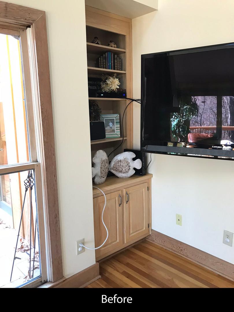 Family Room Renovation - Before