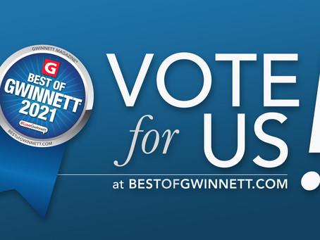 Best Website Design Firm | Vote for Best of Gwinnett 2021