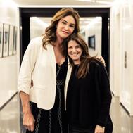 Jane Sarkin With Caitlyn Jenner