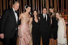 Jane Sarkin With Tom Cruise & Kate Holmes