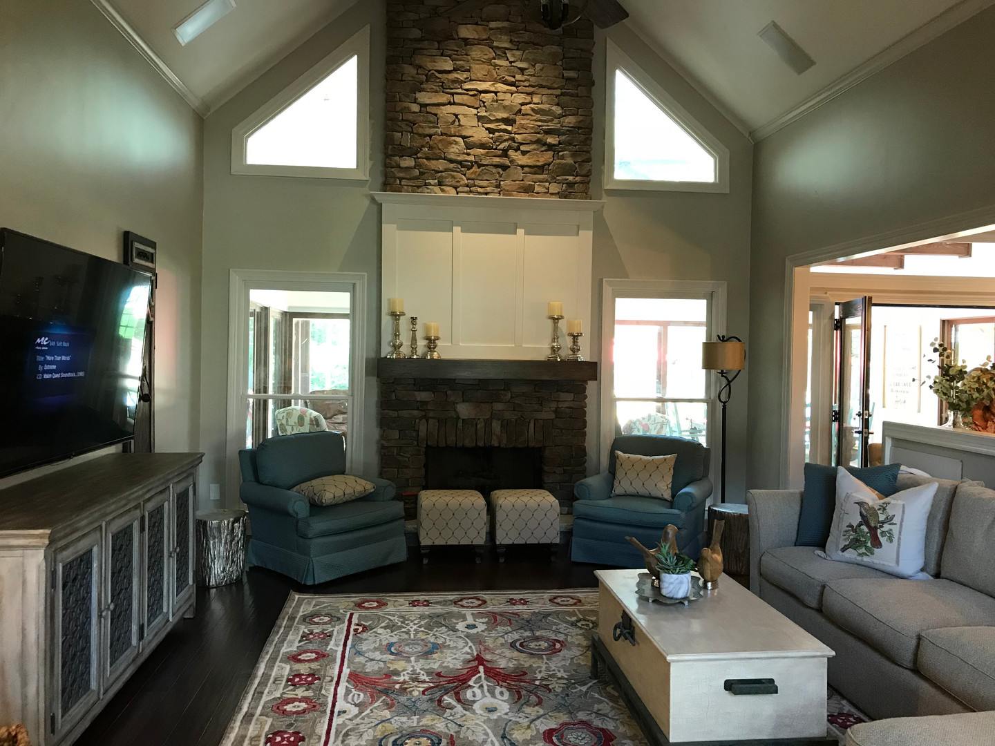 Family Room Renovation - After