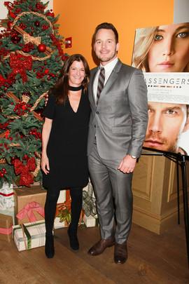 Jane Sarkin With Chris Pratt