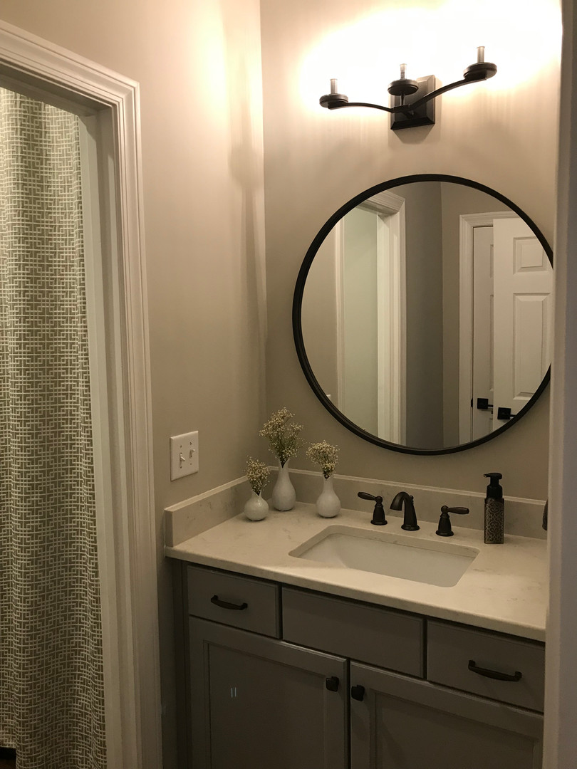 Powder Room Renovation - After