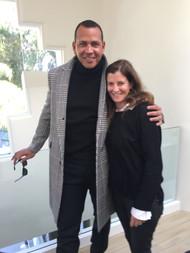 Jane Sarkin and A-Rod
