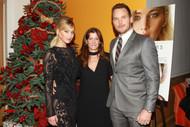 Jane Sarkin With Jennifer Lawerance And Chris Pratt