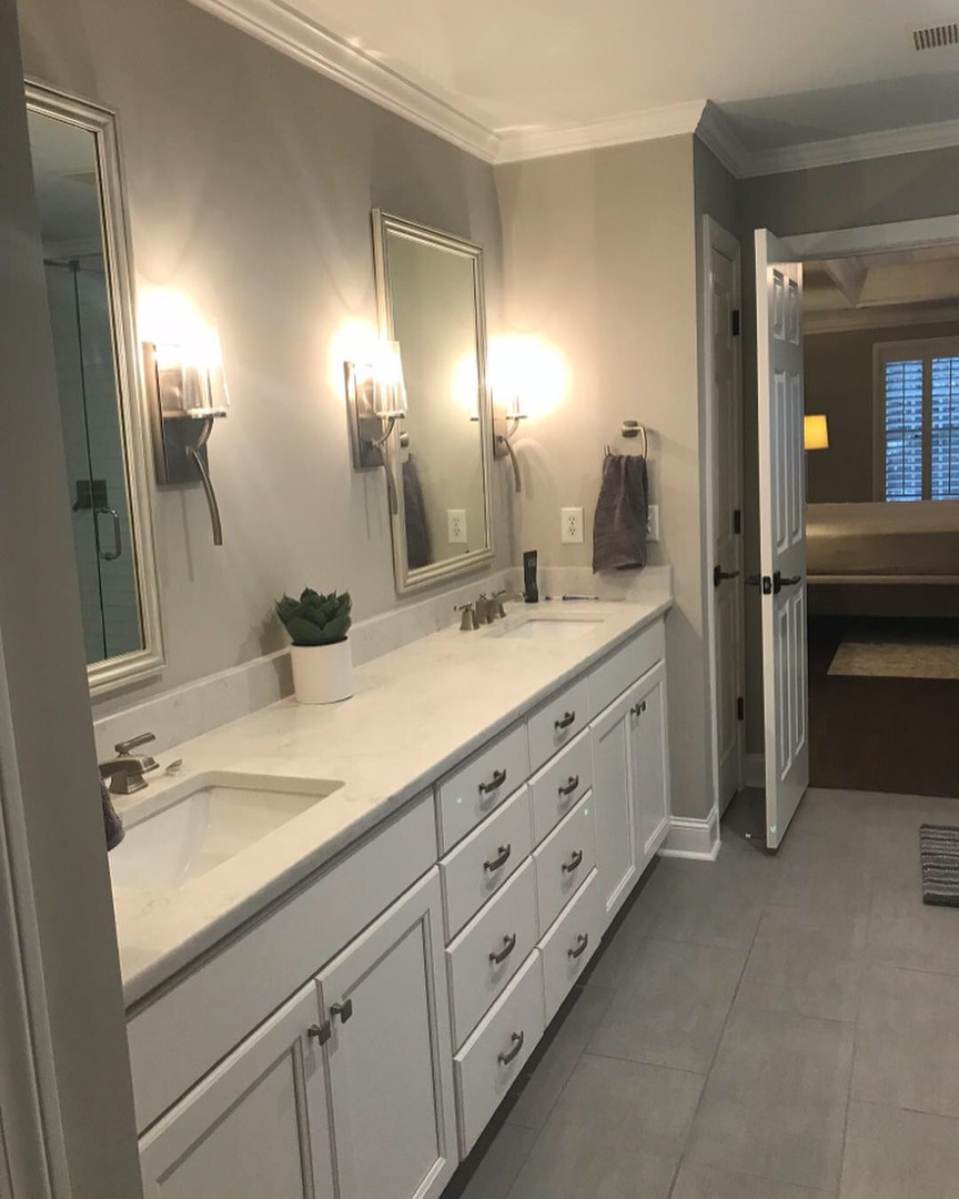 Master  Bathroom Renovation - After
