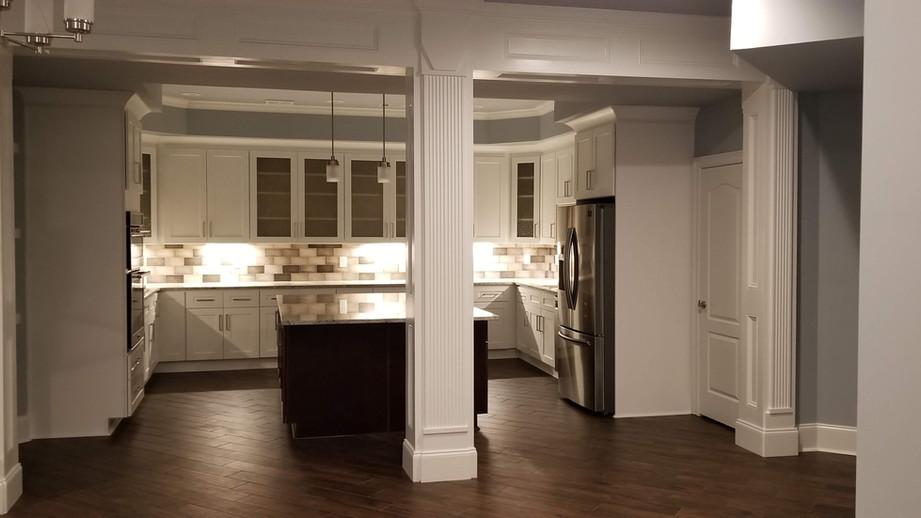 basement remodeling - ferentino designs