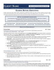 International Retail Industry Executive
